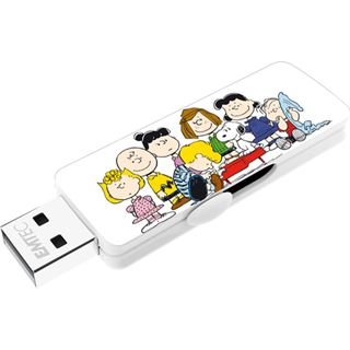 8 GB EMTEC Peanuts M700 Group Figur USB 2.0