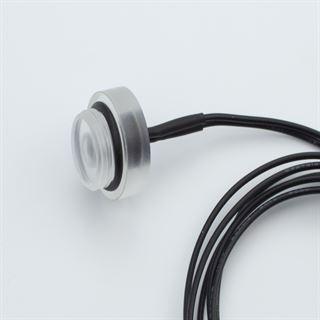 PrimoChill G1/4 Zoll PMMA Plug inkl. Secure Halterung - 2x 5mm weiße LED