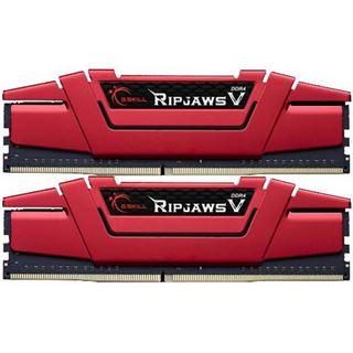 32GB G.Skill RipJaws V rot DDR4-2800 DIMM CL15 Dual Kit