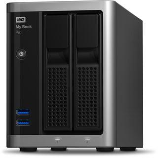 "8000GB WD My Book Pro WDBDTB0080JSL-EESN 3.5"" (8.9cm) 2x Thunderbolt 2 20Gb/s / USB 3.0 silber/schwarz"