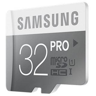 32 GB Samsung Pro microSDHC Class 10 U1 Retail inkl. Adapter auf SD