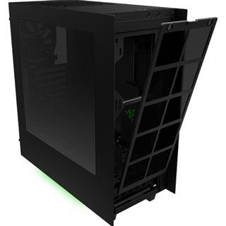 NZXT Source 340 Special Edition mit Sichtfenster Midi Tower ohne Netzteil schwarz/gruen