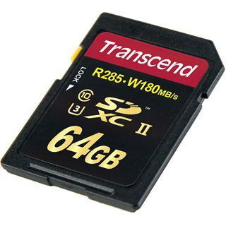 64 GB Transcend R285 SDXC Class 10 U3 Retail