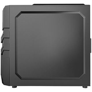 Raidmax Vortex V5 mit Sichtfenster Midi Tower ohne Netzteil schwarz