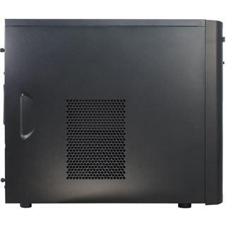 Inter-Tech GM-6013 Mini Tower ohne Netzteil schwarz