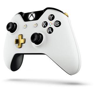 Microsoft Xbox One Wireless Controller Lunar White Special Edition weiß XBOX One
