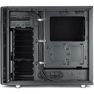 Fractal Design Define R5 Blackout Edition gedämmt Midi Tower ohne Netzteil schwarz