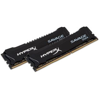 32GB HyperX Savage schwarz DDR4-2400 DIMM CL14 Dual Kit