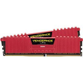 8GB Corsair Vengeance LPX rot DDR4-4000 DIMM CL19 Dual Kit