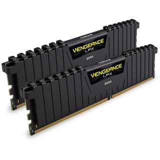 8GB Corsair Vengeance LPX schwarz DDR4-4000 DIMM CL19 Dual Kit