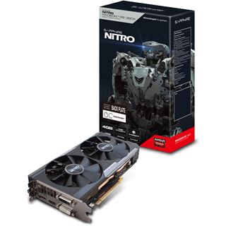 4GB Sapphire Radeon R9 380X Nitro inkl. Backplate Aktiv PCIe 3.0 x16 (Lite Retail)