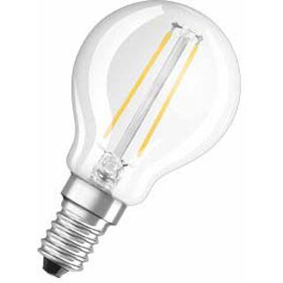 Osram LED RF Classic P 25 2W/827 FIL Klar E27 A++