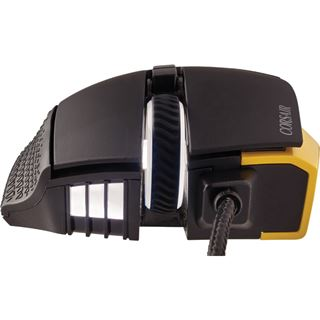 Corsair Scimitar RGB USB schwarz/gold (kabelgebunden)