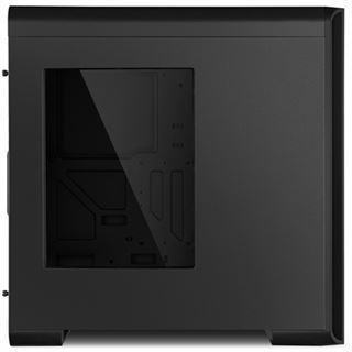 Sharkoon BW9000-W mit Sichtfenster Midi Tower ohne Netzteil schwarz