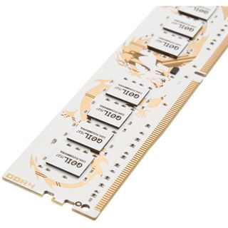 8GB GeIL white Dragon IC DDR4-3200 DIMM CL15 Dual Kit