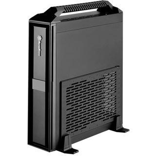 Silverstone Milo ML08 mit Tragegriff Mini-ITX ohne Netzteil schwarz