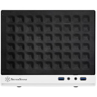Silverstone Sugo SG13WB Mini-ITX ohne Netzteil weiss