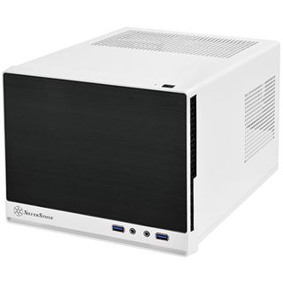 Silverstone Sugo SG13WB-Q Mini-ITX ohne Netzteil weiss