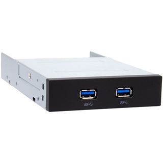 "Chieftec USB 3.0 Front-Panel 2 Ports 3,5"" (8,89cm) schwarz"