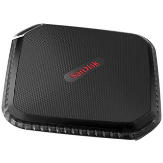 480GB SanDisk Extreme 500 Portable SSD SDSSDEXT-480G-G25 MO-300A USB 3.0 schwarz