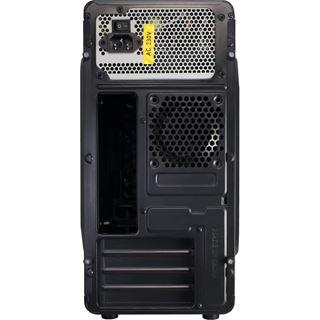 Inter-Tech MC-02 Mini Tower 500 Watt schwarz