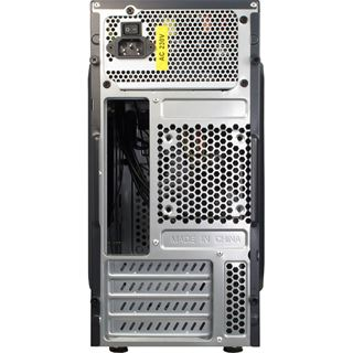 Inter-Tech MA-03 Mini Tower 500 Watt schwarz