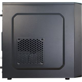 Inter-Tech MA-01 Mini Tower 500 Watt schwarz
