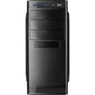 Inter-Tech IT-5905 Midi Tower ohne Netzteil schwarz