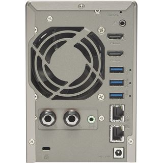 QNAP Turbo Station TS-253A-4G ohne Festplatten