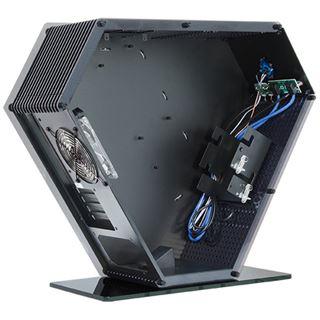 Chieftec Exqu!sist Design SJ-06B mit Sichtfenster Mini Tower ohne Netzteil schwarz