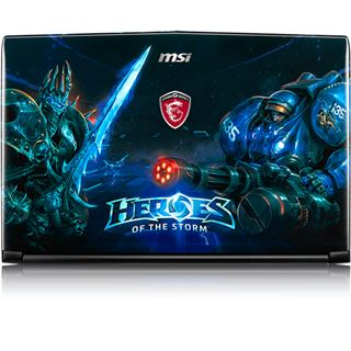 """Notebook 15.6"""" (39,62cm) MSI GE62 6QF Apache Pro Heroes Special Edition"""