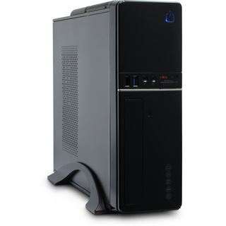 Inter-Tech IT-607 Desktop 300 Watt schwarz
