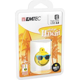 8 GB EMTEC Mr Hawaii gelb USB 2.0