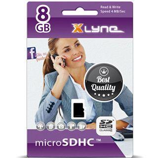 8 GB xlyne 7408000 microSDHC Class 4 Retail