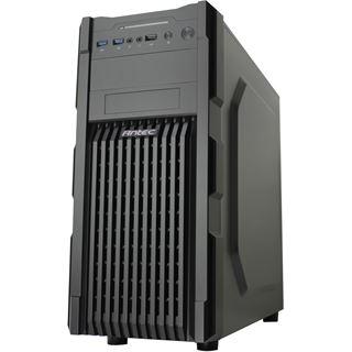 Antec GX200 mit Sichtfenster Midi Tower ohne Netzteil schwarz/blau