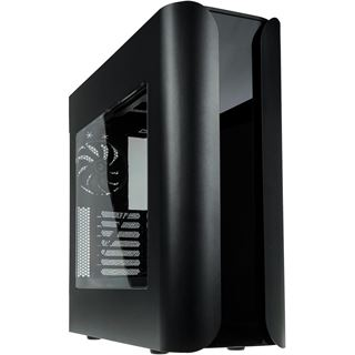 BitFenix Pandora Core mit Sichtfenster Midi Tower ohne Netzteil schwarz