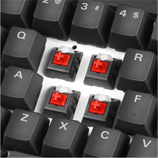 Sharkoon Shark Zone MK80 RGB Kailh Red USB Deutsch schwarz (kabelgebunden)