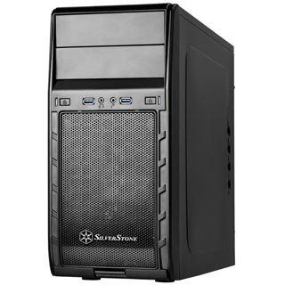 Silverstone Precision PS12 Mini Tower ohne Netzteil schwarz