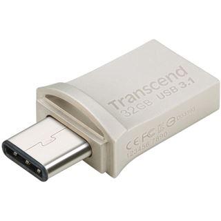 32 GB Transcend JetFlash 890S grau USB 3.1