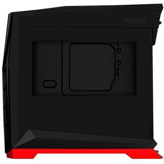 Silverstone RVX01 mit Sichtfenster Midi Tower ohne Netzteil schwarz