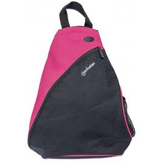 """Manhattan Notebook Rucksack Dashpack bis 12"""" schwarz/pink"""