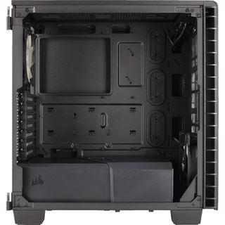 Corsair Carbide Clear 400C mit Sichtfenster Midi Tower ohne Netzteil schwarz