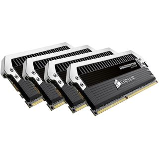 16GB Corsair Dominator Platinum DDR4-3200 DIMM CL16 Quad Kit