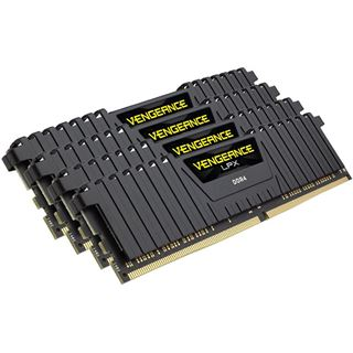 16GB Corsair Vengeance LPX schwarz DDR4-3200 DIMM CL16 Quad Kit