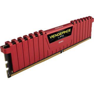 16GB Corsair Vengeance LPX rot DDR4-3466 DIMM CL16 Dual Kit