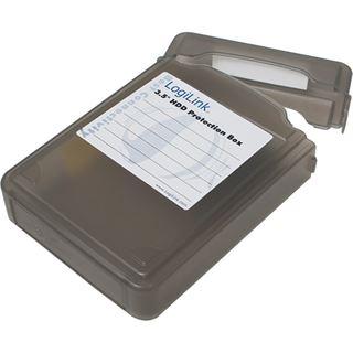"""LogiLink Festplatten Schutz-Box für 3,5"""" HDD´s, schwarz"""