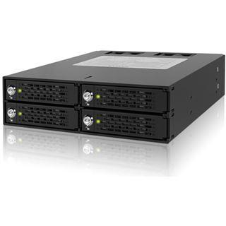 "IcyDock Backplane 4x6,3cm SATAI-III/SAS in 1x5,25"" HDD/SSD"