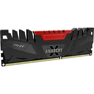 8GB PNY Anarchy X rot DDR3-2400 DIMM CL11 Dual Kit