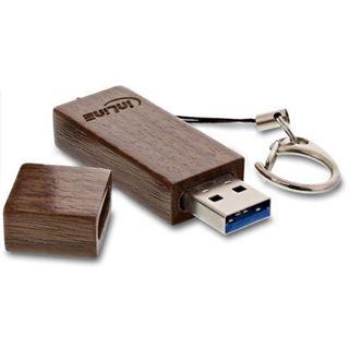 64 GB InLine woodline Walnuss braun USB 3.0