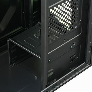 Cooltek KX Midi Tower ohne Netzteil schwarz/gruen